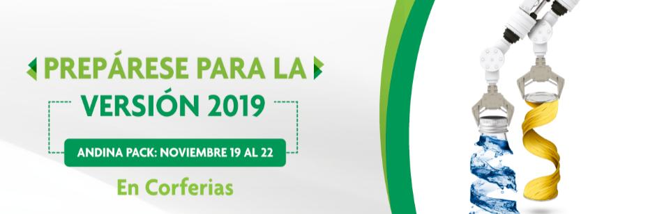 La XV Exposició Internacional de Indústria de l'envàs de Colòmbia