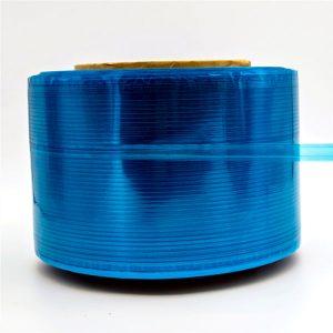 Cinta de segellat de la borsa de missatgeria Blue Film