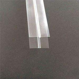 Bossa de plàstic transparent amb cremallera